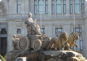 Cibeles Square of Madrid
