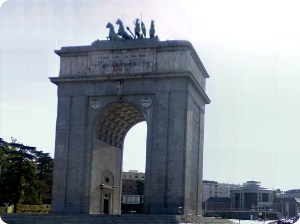 Victory Arch of Madrid